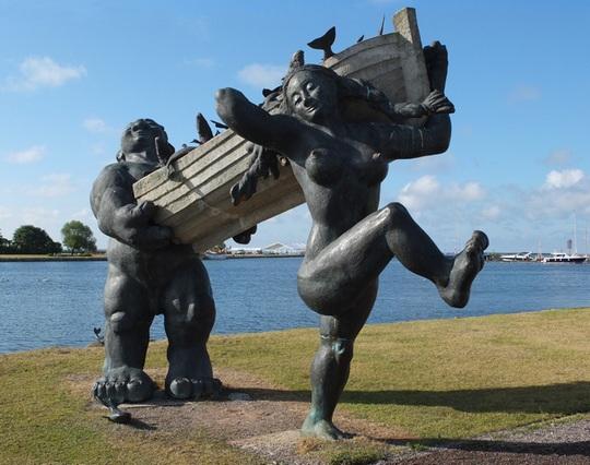 Tauno Kangro - sculptor, Estonia